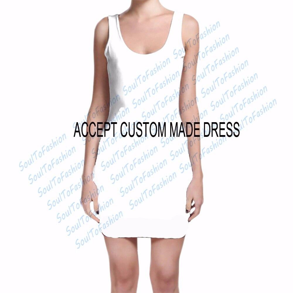 Индивидуальный заказ Creat ваши собственные конструкции 3D сублимационная печать молоко шелковое платье