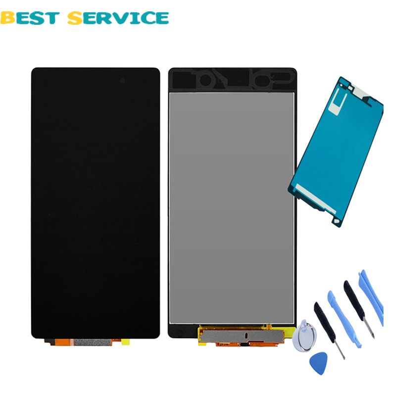100 New For Sony Xperia Z2 D6502 D6503 D6543 L50W LCD Display with Touch Screen Digitizer