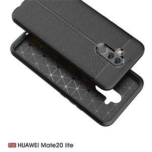Image 5 - Dành Cho Huawei Mate 20 Lite Case Mate 20 Lite Bao Da Mềm Mại Ốp Lưng TPU Họa Tiết Da Silicone Chắc Chắn Dành Cho Huawei giao Phối 20 Lite