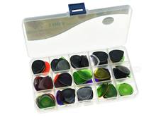 100pcs Alice Guitar Bass Large Durable Clear Picks Assorted Colors and 3 Thickness 1 0 2