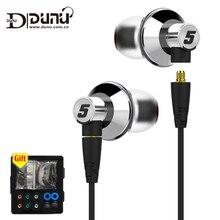 DUNU TITAN 5 Inner la oreja los Auriculares de Alta Fidelidad dinámica Grande rendimiento acústico TITAN5 TITAN-5