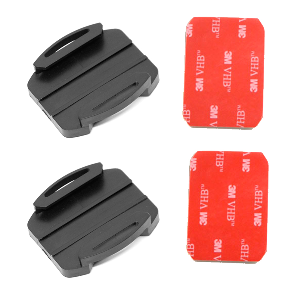 2 Surface Mount + 2 Adhesives Sticker for Sony Action Cam HDR-AS30V HDR-AS100V HDR AS20 AS200V AS100V Replace Like VCT-AM1