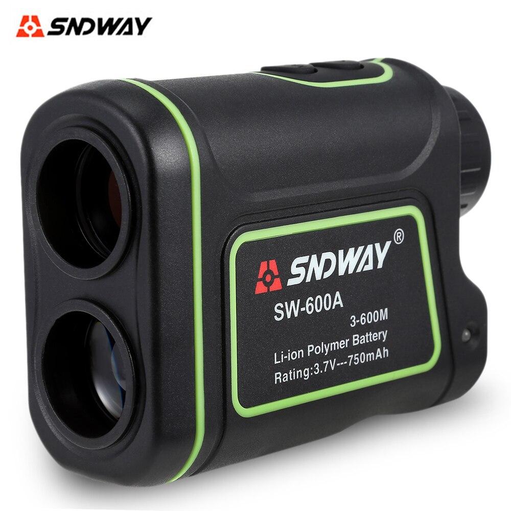 SNDWAY SW-600A Télescope Distance De Poche Mètre Monoculaire Télémètre 600 m 1000 m Mesure Outil Laser Distance Range Finder