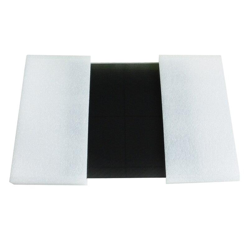 Tronxy? 330*330*4mm Treillis Chaud En Verre Plaque de Lit Lit Chauffant Plate-Forme Pour 3D Imprimante - 4