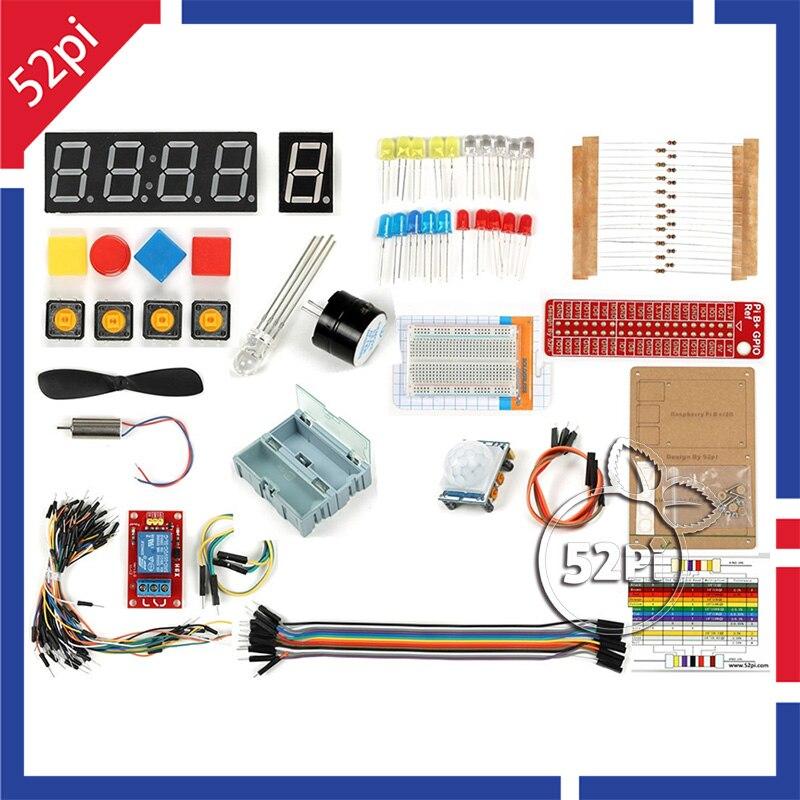 52Pi GPIO DIY Starter Kit для Raspberry Pi 3 Модель B ...