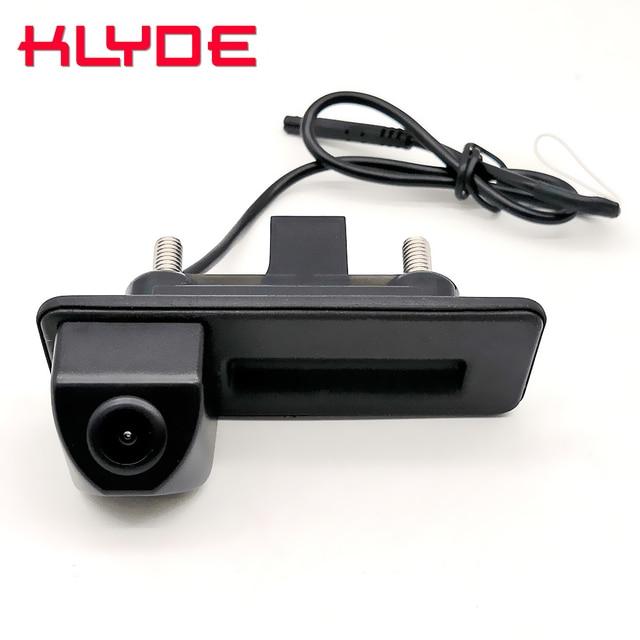 Auto Trunk Handle Car Rear View Reverse Backup Parking Camera For Skoda Octavia Fabia Superb Rapid Spaceback/Audi A1 A4L A6L Q3