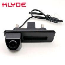Auto Trunk Handle Car Rear View Reverse Backup font b Parking b font Camera For Skoda