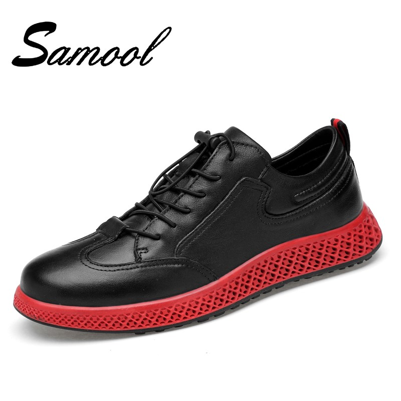 Spring Autumn New Casual Shoes Mens Leather Flats Lace-Up Shoes Simple Stylish Male Shoes Large Sizes Oxford Shoes for Men Gx5 stylish men s casual shoes with metal and lace up design