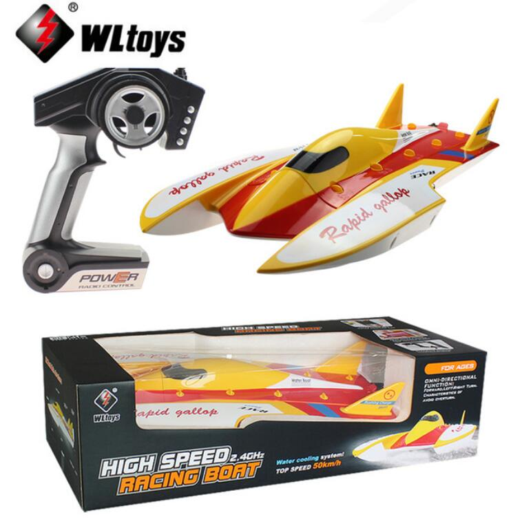 Original WLtoys WL913 2.4G Remote Control Brushless Motor Water Cooling System High Speed 50km/h RC Racing Boat|racing boat|rc racing boat|wltoys wl913 - title=