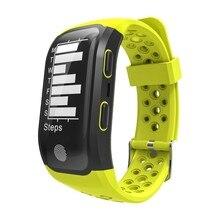 S908 умный Браслет IP68 Водонепроницаемый smart Сердечного ритма Мониторы напоминание GPS чип спортивный браслет перемещение записи трека