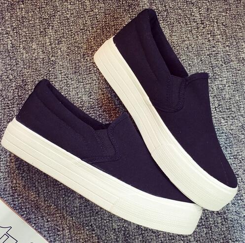 Blanco Zapatos Zapatillas Aw5tvyq 2015 Clásico Lona Carrefour De Negro Y qX8OYY InqdUd0