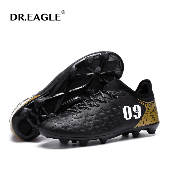 Men's DR.EAGLE Indoor turf crampon original futsal futzalki soccer cleats football shoes boots superfly sneakers boot de soccer