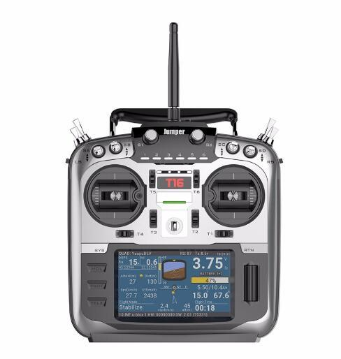 Jumper T16 2,4G 16CH transmisor de Radio multiprotocolo de fuente abierta con módulo RF JP4-in-1 VS X9D PLUS