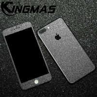Película frontal y trasera de color brillante de lujo para iphoneX XS XR 11 Pro max 8 7 6 plus película protectora brillante rayado para película a prueba de manzana