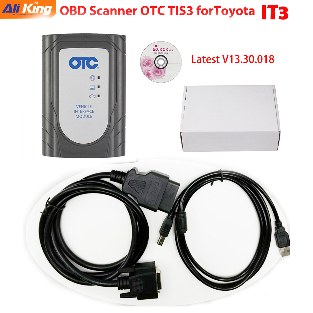 US $62 0 |Online update V14 00 018 GTS tis3 OTC Diagnostic Tool V13 30 018  software IT3 Global Techstream GTS OTC IT3 Scanner-in Code Readers & Scan