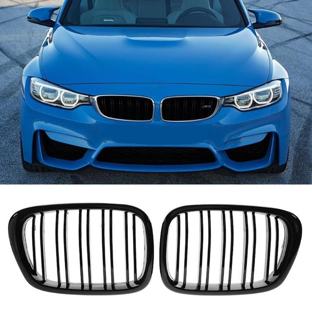 1 Kidney Grille For Bmw E39 99 03