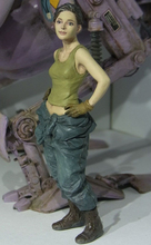 GK 1/20 Female Pilot Unpainted Resin Figure
