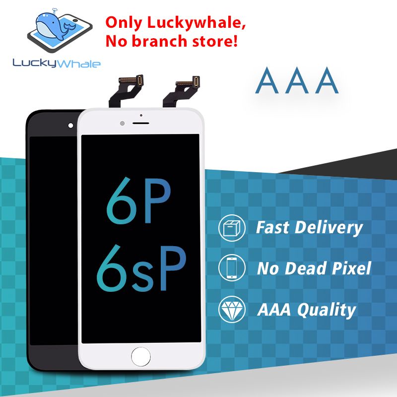 20pcs Grade AAA LCD Display For iPhone 6 Plus 6S Plus Touch Screen Digitizer Assembly Replacement