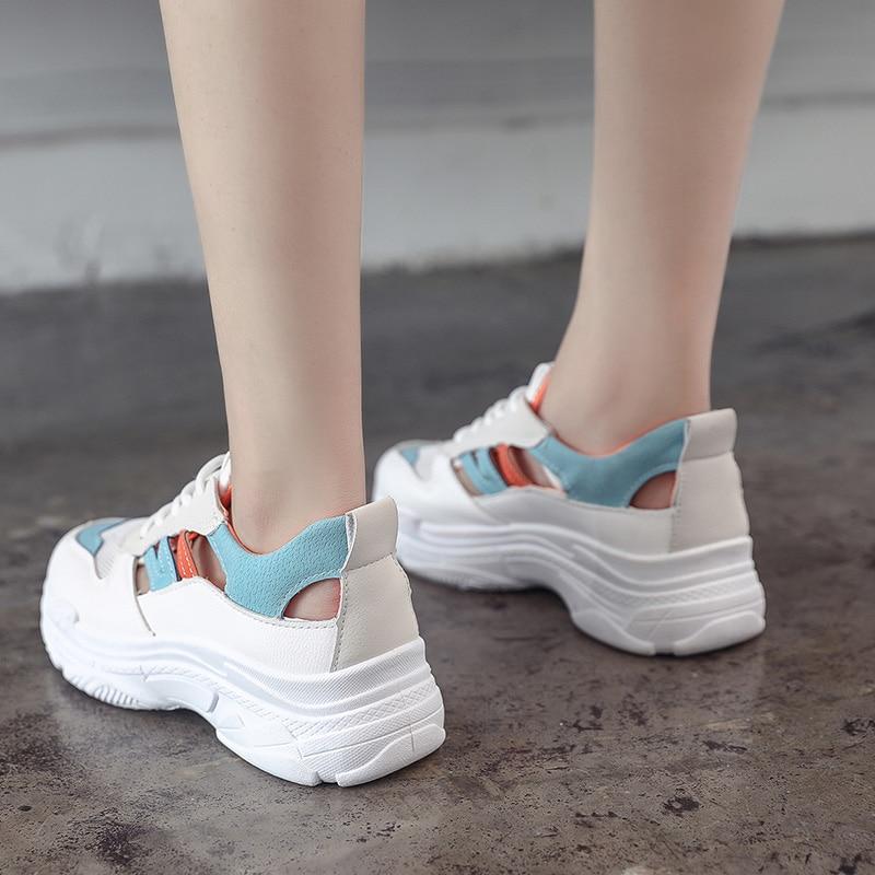 Mode Dames Kjstyrka Mesh rouge Tenis 2018 Printemps Designer Casual Bleu Été Sneakers Marque Respirant Feminino Femme Coins xfIqf6