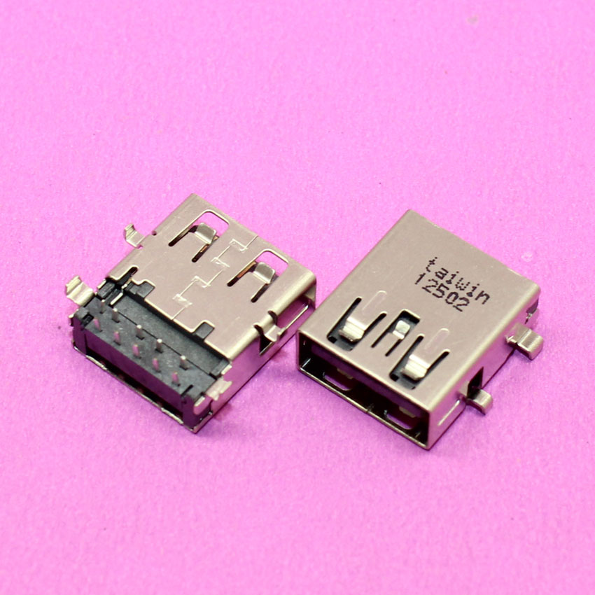 Commonly Used Replacement Right Angle USB 3.0 Jack Port, 9 Pins Type-A USB Female Connector for Asus/ Acer/ Lenovo Ultrabook 100pcs right angle 4 pin usb type a standard port female plug jacks connector pcb socket usb a type