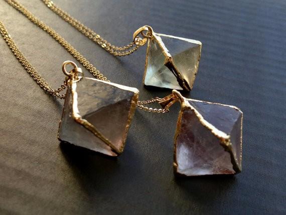3-10pcs,Natural Oval Shape slab gold edged bracelet connector,Faceted Gemstones labradorite amethyst slice Pendants Jewelry Necklace charms