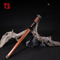Chinese Han Dynasty Sword Folded Steel Blade For Sale Kungfu Martial Art Collectible