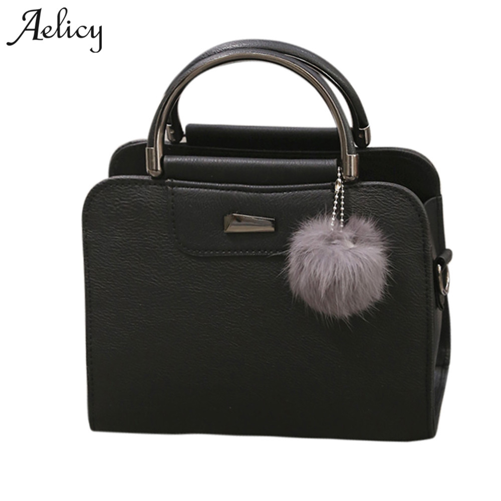 Aelicy 2018 Spring PU Leather Tote Bag Women Fashion Designer Handbags High Quality Ladies Bags Vintage Crossbody Bags for Girls fashion vintage women s handbags quality pu leather crossbody bags for teenager girls chains shoulder bag desinger clutch bags
