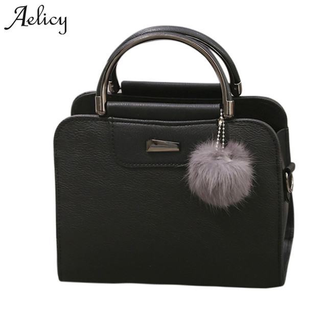 Aelicy 2018 Spring PU Leather Tote Bag Women Fashion Designer Handbags High  Quality Ladies Bags Vintage Crossbody Bags for Girls 04538f6c9c00c