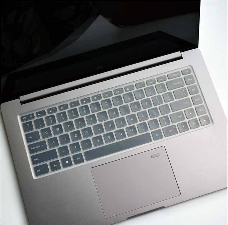 Đối với Xiao mi mi Máy Tính Xách Tay Pro 15 15.6 ''Silicone Máy Tính Xách Tay Bàn Phím Bao Gồm màng Bảo Vệ bộ phim da Bảo Vệ