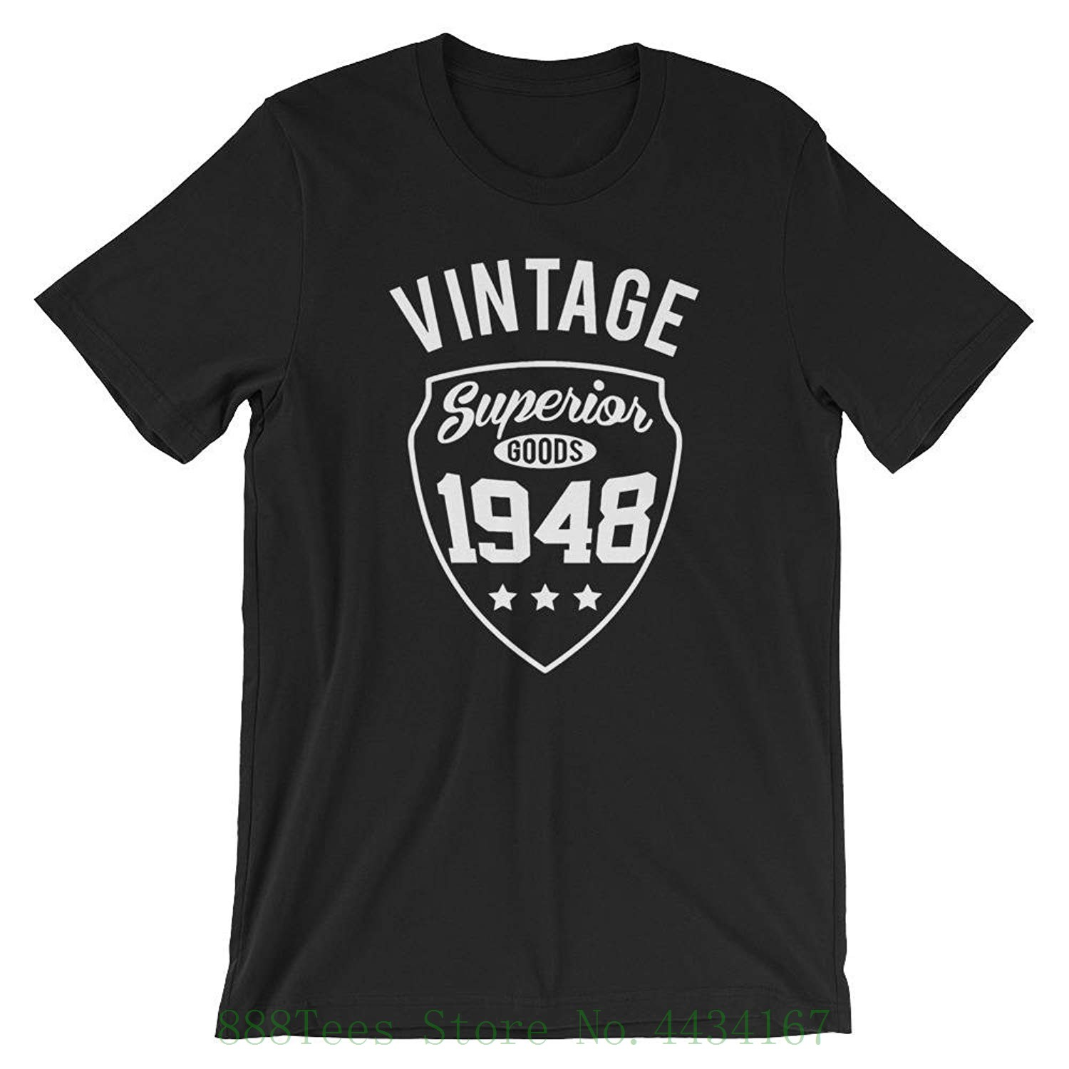 Dicky Ticker 70th Birthday Gifts For Men Vintage Premium 1948 T Shirt Mens Navy Blue 75th Present Shirts In From Clothing On