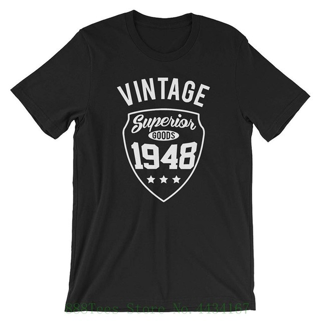 Dicky Ticker 70th Birthday Gifts For Men Vintage Premium 1948 T Shirt Mens Navy Blue