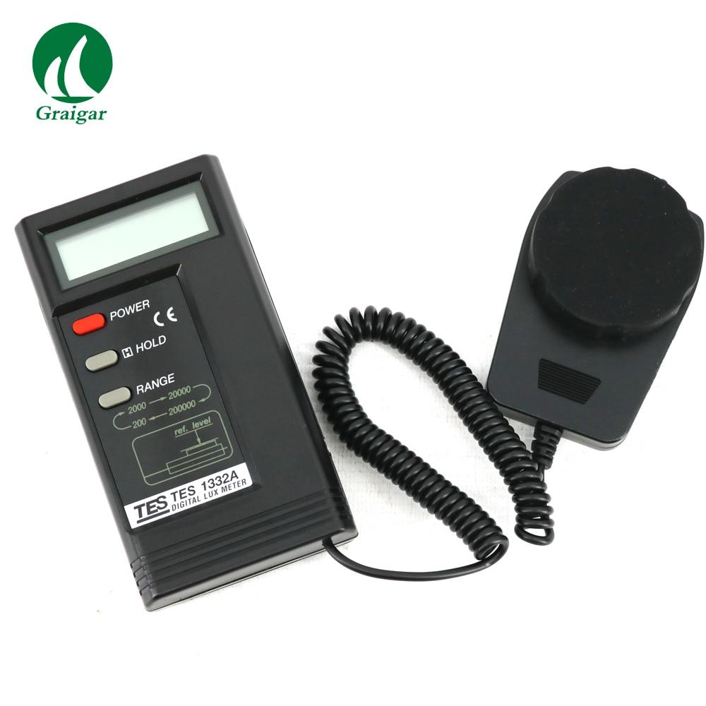 Digital Lux Meter TES 1332A UV Radiometers Tools - title=