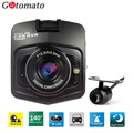 Gotomato GT300 Dual Lens Car Camera Full HD 1080P 2 Lens Car DVR Video Recorder Night Vision Camcorder Two Cameras Black Box