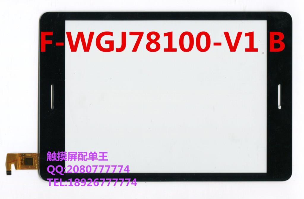 ФОТО 7.85inch tablet pc call F-WGJ78100-V1 B touchscreen external screen handwriting touch screen capacitive screen