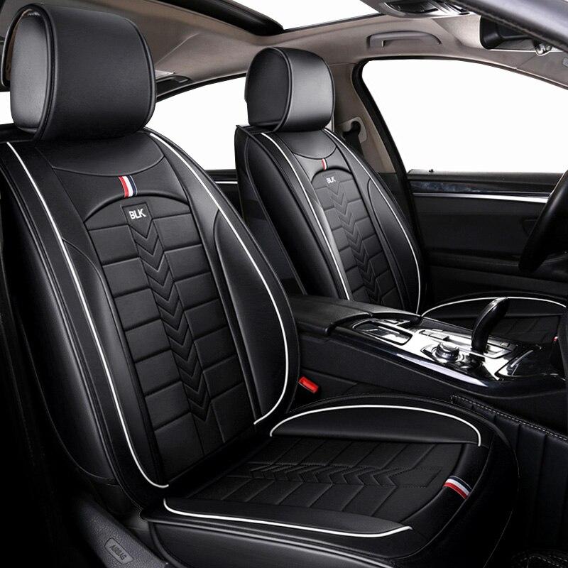 Automobiles Leather Universal car seat cover For honda crosstour CR V crv 2007 2008 2007 2011