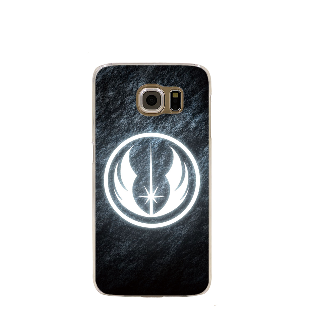Pics photos batman logo evolution design for samsung galaxy case - 10906 Star Wars Glowing Symbol Cell Phone Case Cover For Samsung Galaxy S7 Edge Plus S6