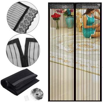 100*210cm Magnetic Fly Screen Door Summer Ultra Seal Magnets Mesh Bug Proof Curtain Household Anti-Mosquito Door Curtain  screen door