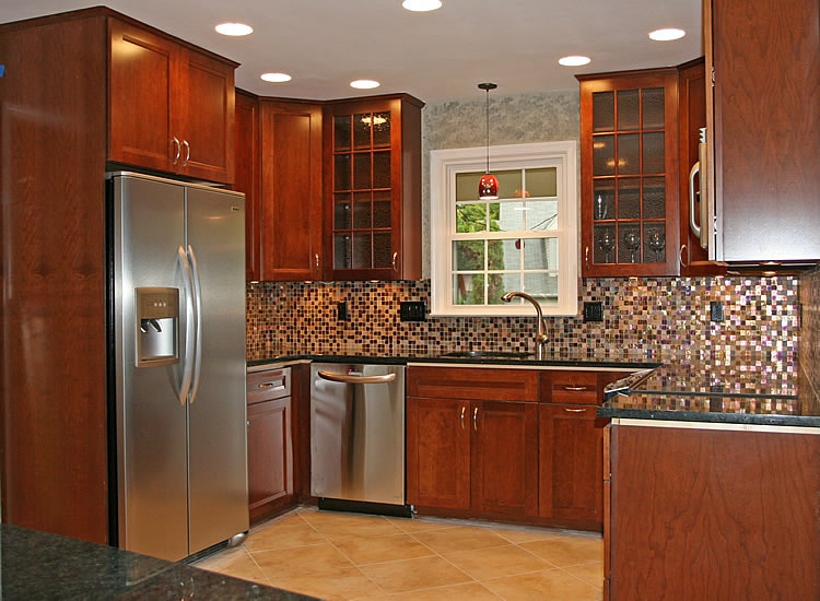 Colorful Rubberwood Kitchen Cabinets Ideas - Home Design Ideas and ...