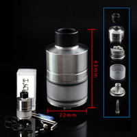 Newest SXK WICK'T RDTA Rebuildable Dripping Atomizer with BF Pin for 510 Mech Mods Vs WICKT Goon V1.5 RDA Hadaly Citadel RDA