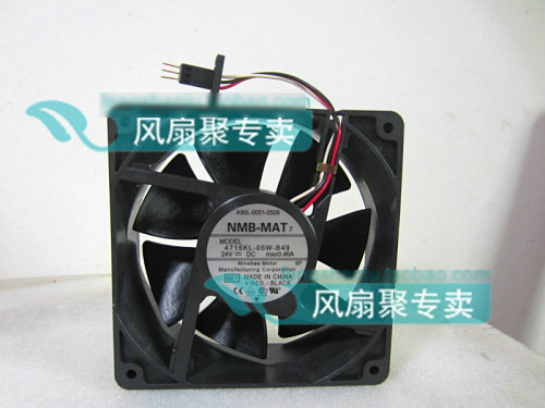 Original NMB 4715KL-05W-B49 A90L-0001-0509 24V 0.46A for FANUC cooling fan 09 single associated with switch potentiometer a10k [gp88 dedicated walkie talkie ]