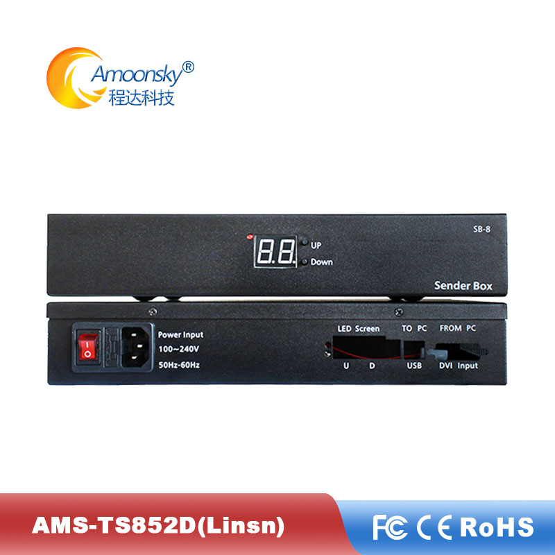 Sending-Card Novastar Colorlight Ts802 Linsn Led with Support Led-Display-Controller