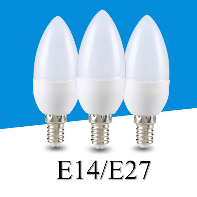 E14 Led Candle Bulbs Energy Saving Lamp Light 5W 7W 9W E14 E27 B22 LEDs Chandelier Light Spotlight Bombilla Led Fortable Lamp