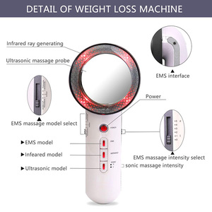 Image 5 - EMS Body Slimming Massager Weight Loss Anti Cellulite Fat Burner Galvanic spa Infrared Ultrasound Cavitation Therapy