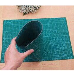 Mata do cięcia z pcv A3 podkładka do cięcia Patchwork podkładka do cięcia A3 narzędzia do patchworku ręczne narzędzie do majsterkowania deska do krojenia dwustronna samoleczenie