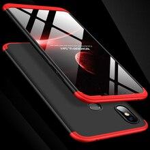 360 Degree Full Cover Case For Xiaomi Mi8 SE Mi 8 SE With Tempered Glass Luxury Plastic Case For Xiaomi 8 SE Mi 8SE Phone Bag 360 серии se детские часы ремешок бадди long