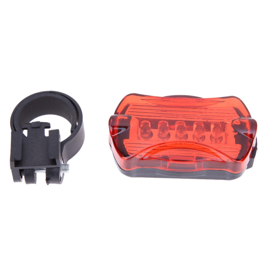 Camping Survival Bike LED Blinkie Mini Safety Front/&Rear Light// Taillight Set