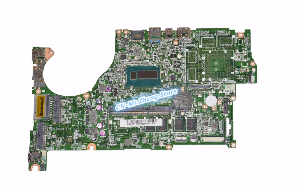 SHELI FOR font b Acer b font Aspire V5 573 V7 482 Laptop Motherboard W I7