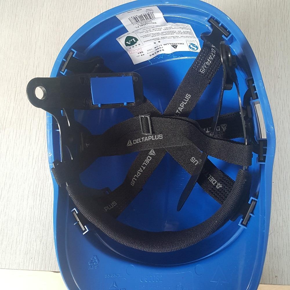 Güvenlik Kask Sert Şapka Çalışma Kapağı ABS Fosfor Şerit - Güvenlik ve Koruma - Fotoğraf 2