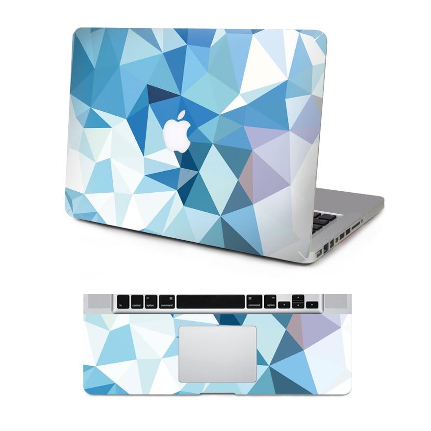 2016 Full Body Vinyl Decal Laptop White Grey Marble