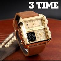 Fashion Watch Men Watch Mens Watches Top Brand Luxury Quartz Military Sports Male Clock Waterproof LED Digital Watches Wrist